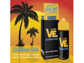 Caribbean Cola VE Drink Flavoured E-Liquid KA - MAX VG - SUB OHM - Nicotine Free - 50ml Shortfill