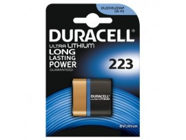 Duracell 223 6V Photo Lithium Ultra Battery