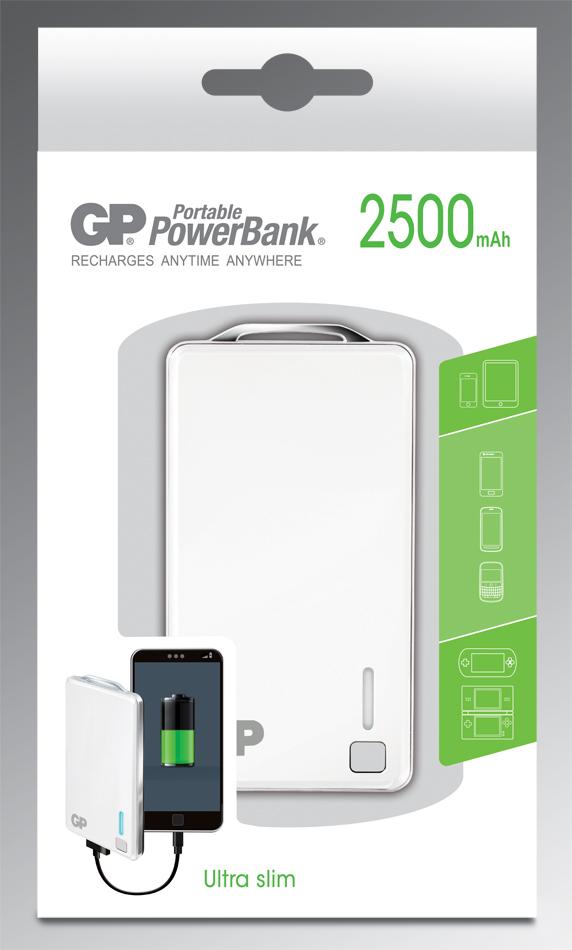 GP 1800mAh Ultra Slim Portable Powerbank