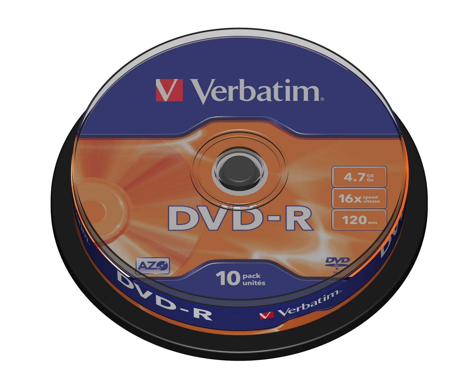 Search Tag Spindle Kaset Dvd Rw Verbatim 43523 R Azo 16x 47gb 10 Pack